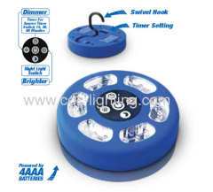 21 LED Camping Work Light With Timer