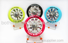 Tire Mini Fan
