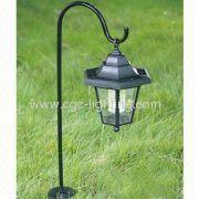 Plastic Soalr Powered Garden Light
