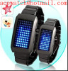 Fashion LED watch men lady wrist watch