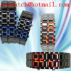 Fashion lava led watch Japanese style watch