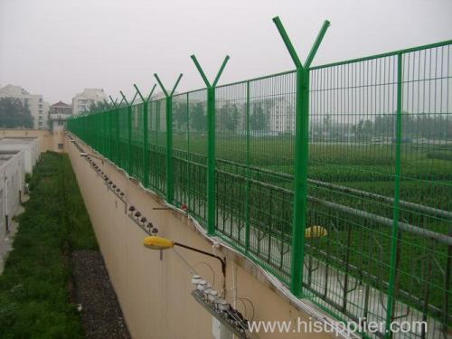 Double Ring Welded Wire Mesh Fences