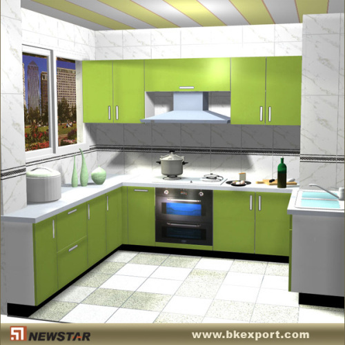 Kaka Pvc Kitchen Furniture: Modern PVC Cabinet For Kitchen Products