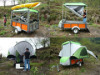 travel trailers,outdoor tent car,camping tent car,green camping trilers