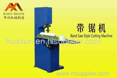 Band Saw Style Cutting Machine