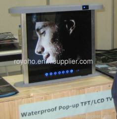 Waterproof Touch Pop-up TFT/LCD TV