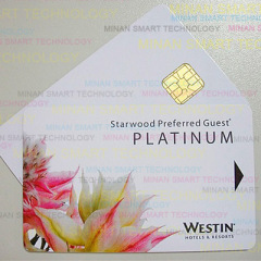 Color Printing Contact IC Card