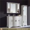 Large PVC Bath Vanity with Side Cabinet