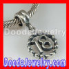 925 Sterling Silver Jewelry Charms Dangle lucky number 18 european Compatible