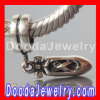 S925 Sterling Silver Jewelry Charms with Screw Dangle Dancing Shoe