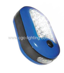 27 LED 3AAA TORCH Magnet Worklight