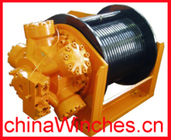 lebus grooved drum Free fall winch