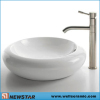 Top mount Ceramic Bowl with Faucet