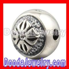 Wholesale 10mm shamballa style sterling silver Bead with Austrian Crystal