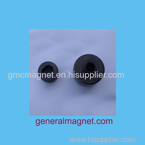 4-pole injection ferrite magnet