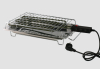 electric bbq, barbecue, wire grill