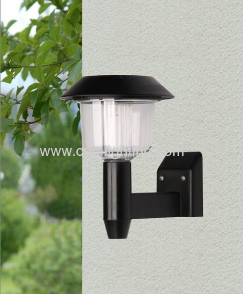 Plastic Wall Mounted Solar Lamps