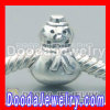 925 Sterling Silver Xmas Snowman Beads and Charms For 2011 Christmas Day