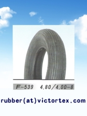 Motorcycle Tire Pattern straight line 4.80-8 4.00-8