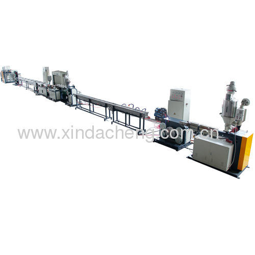 Drip tape irrigation pipe production line