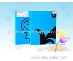 High quality blue hard cover book binding