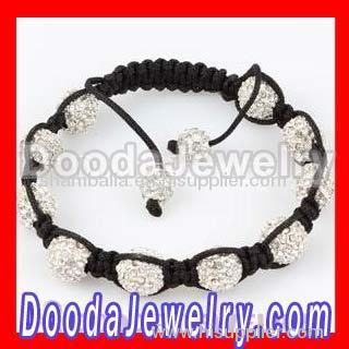 Fashion Hip hop bracelet jewelry wholesale with Crystal Disco Beads