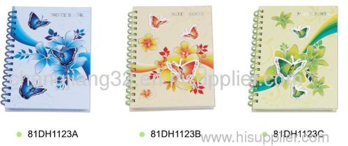 SPIRAL hard cover NOTE BOOK