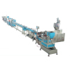 Column emitter irrigation pipe production line