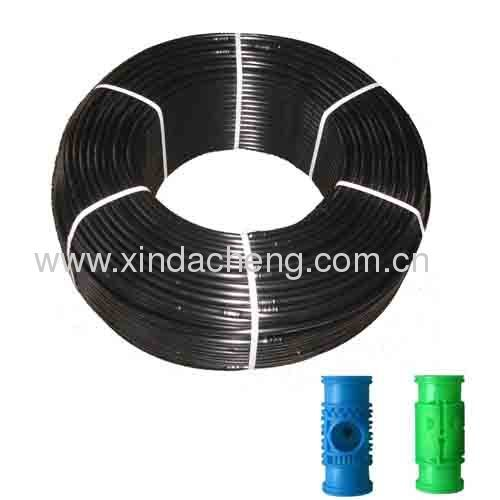 Column emitter drip irrigation pipe