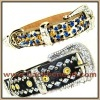 Pet Collar with Czech Crystals