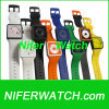Silicone bracelet eyes watch (NFSP078)