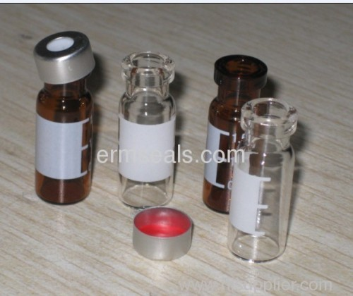chromatography vial with cap