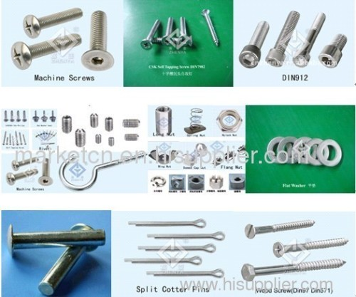 stainless steel screw( self-tapping, machine, wood, eye...)