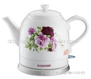ceramic electric water/tea kettle