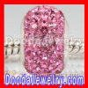 Pink Swarovski Crystal Beads For european Chamilia Fashion Bracelet Jewelry european Compatible