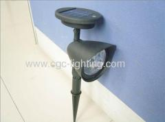Plastic Solar Garden Lights