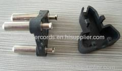 India 3 pins Cable plug insert