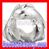 european Style Sterling Silver Beads Charms In 3 Playful Dolphins Design