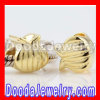 Wholesale european Style Gold Plated Sterling Silver Beads Charms In Purse Design