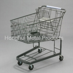 150L american type Grocery store shopping cart