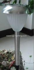 stainless steel LED solar garden Light Fitting