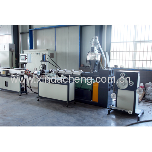 Tape drip irrigation pipe production line
