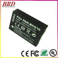 BCG10 Digital Camera Battery for Panasonic,1200 mAh