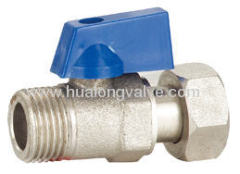 BLUE handle Mini Ball Valve