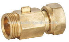 Brass Mini Ball Valve Swivel