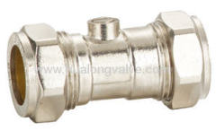 WRAS approved stainless ball valve