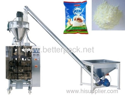 Automatic powder vertical form fill and packing system