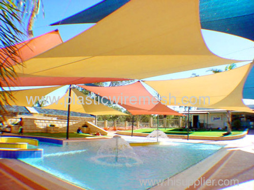 swimming pool shade sail