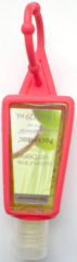 29ml hand sanitizer silicone holder (red)