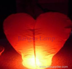 China special crafts heart shape wishing lamp